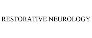 mark for RESTORATIVE NEUROLOGY, trademark #85503344