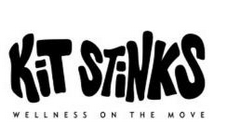 mark for KIT STINKS WELLNESS ON THE MOVE, trademark #85503434
