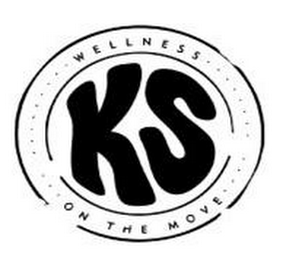 mark for KS WELLNESS ON THE MOVE, trademark #85503436