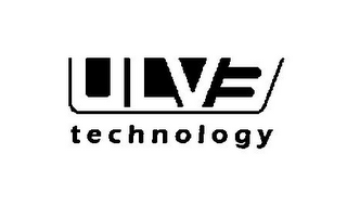 mark for ULV3 TECHNOLOGY, trademark #85503951