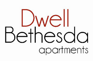 mark for DWELL BETHESDA APARTMENTS, trademark #85504330