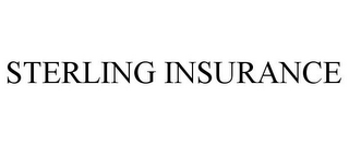 mark for STERLING INSURANCE, trademark #85504382