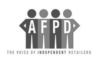 mark for AFPD THE VOICE OF INDEPENDENT RETAILERS, trademark #85504716