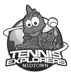 mark for TENNIS EXPLORERS MIDTOWN, trademark #85504775