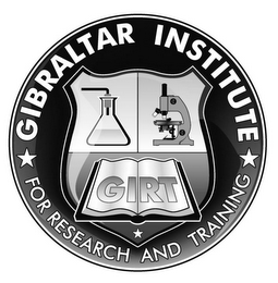 mark for GIBRALTAR INSTITUTE FOR RESEARCH AND TRAINING GIRT, trademark #85504952