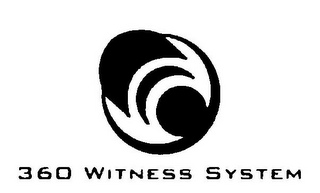 mark for 360 WITNESS SYSTEM, trademark #85504962
