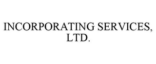 mark for INCORPORATING SERVICES, LTD., trademark #85505499
