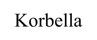 mark for KORBELLA, trademark #85505806