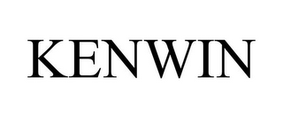 mark for KENWIN, trademark #85505890