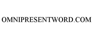 mark for OMNIPRESENTWORD.COM, trademark #85506032