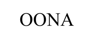 mark for OONA, trademark #85506472