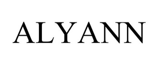 mark for ALYANN, trademark #85506991