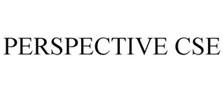 mark for PERSPECTIVE CSE, trademark #85507116