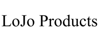 mark for LOJO PRODUCTS, trademark #85507519