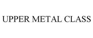 mark for UPPER METAL CLASS, trademark #85507654