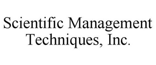 mark for SCIENTIFIC MANAGEMENT TECHNIQUES, INC., trademark #85507956