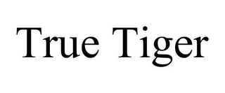 mark for TRUE TIGER, trademark #85508404