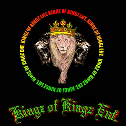 mark for KINGZ OF KINGZ ENT. K OF K, trademark #85508614