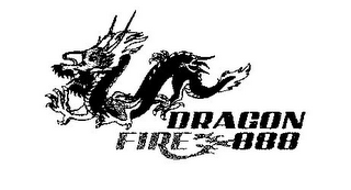 mark for DRAGON FIRE 888, trademark #85509078