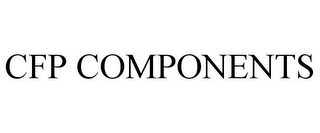 mark for CFP COMPONENTS, trademark #85509734