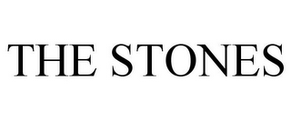 mark for THE STONES, trademark #85509753