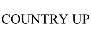 mark for COUNTRY UP, trademark #85510063