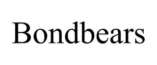 mark for BONDBEARS, trademark #85510228