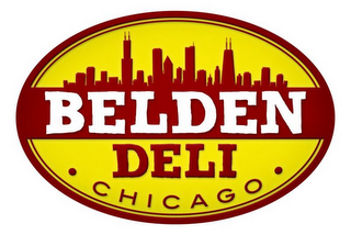 mark for BELDEN DELI CHICAGO, trademark #85510430