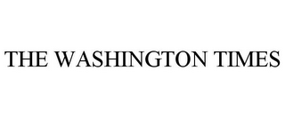 mark for THE WASHINGTON TIMES, trademark #85510575
