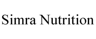 mark for SIMRA NUTRITION, trademark #85511118