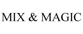 mark for MIX & MAGIC, trademark #85511559