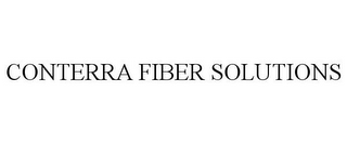 mark for CONTERRA FIBER SOLUTIONS, trademark #85511782