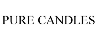 mark for PURE CANDLES, trademark #85512015