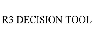 mark for R3 DECISION TOOL, trademark #85512429
