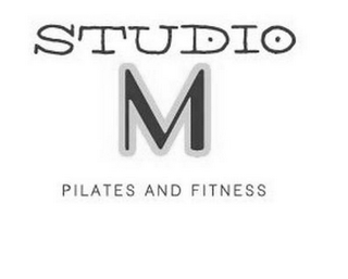 mark for STUDIO M PILATES AND FITNESS, trademark #85512754