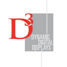 mark for D3 DYNAMIC DIGITAL DISPLAYS, trademark #85513094