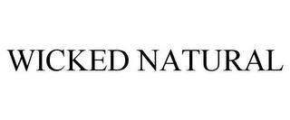 mark for WICKED NATURAL, trademark #85513234