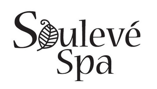 mark for SOULEVÉ SPA, trademark #85513904