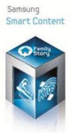 mark for SAMSUNG SMART CONTENT FAMILY STORY FITNESS KIDS, trademark #85514495