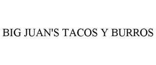 mark for BIG JUAN'S TACOS Y BURROS, trademark #85514544