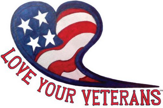 mark for LOVE YOUR VETERANS, trademark #85514882
