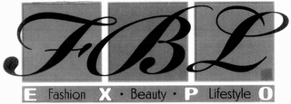 mark for FBL FASHION BEAUTY LIFESTYLE EXPO, trademark #85514922