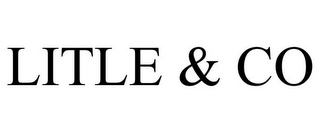 mark for LITLE & CO, trademark #85515029