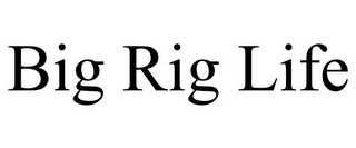 mark for BIG RIG LIFE, trademark #85515100