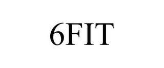 mark for 6FIT, trademark #85515134