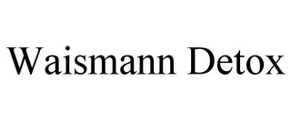 mark for WAISMANN DETOX, trademark #85515173