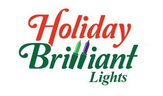 mark for HOLIDAY BRILLIANT LIGHTS, trademark #85515856