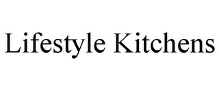 mark for LIFESTYLE KITCHENS, trademark #85515866