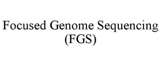 mark for FOCUSED GENOME SEQUENCING (FGS), trademark #85516542
