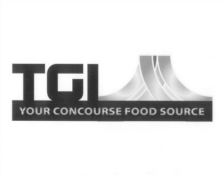 mark for TGI YOUR CONCOURSE FOOD SOURCE, trademark #85516580